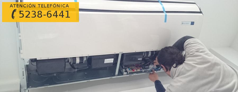 Instalaci n de aire acondicionado piso techo aire split for Aire acondicionado 12000 frigorias